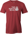 The North Bowl Pop Culture Bowling T-Shirt Red
