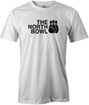 The North Bowl Pop Culture Bowling T-Shirt White