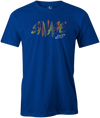 Savage Men's T-Shirt, Blue, savage life, columbia 300, bowling, bowling ball, tee-shirt, tee shirt, tee, tshirt.