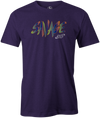 Savage Men's T-Shirt, Purple, savage life, columbia 300, bowling, bowling ball, tee-shirt, tee shirt, tee, tshirt.