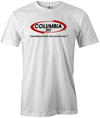 Columbia 300 Bowling T-Shirt | Bowls The World Over White