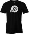 Ebonite Bowling T-Shirt New Logo Black Tee