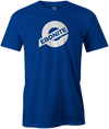 Ebonite Bowling T-Shirt New Logo Blue Tee