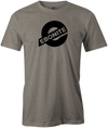 Ebonite Bowling T-Shirt New Logo Gray Tee