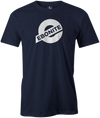 Ebonite Bowling T-Shirt New Logo Navy Tee