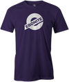 Ebonite Bowling T-Shirt New Logo Purple Tee