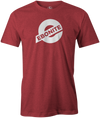 Ebonite Bowling T-Shirt New Logo Red Tee