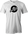 Ebonite Bowling T-Shirt New Logo White Tee