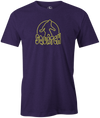 Radical Squatch Men's T-Shirt, Purple, bowling, bowling ball, tee, tee shirt, tee-shirt, t shirt, t-shirt, tees, league bowling team shirt, tournament shirt, funny, cool, awesome, brunswick, brand