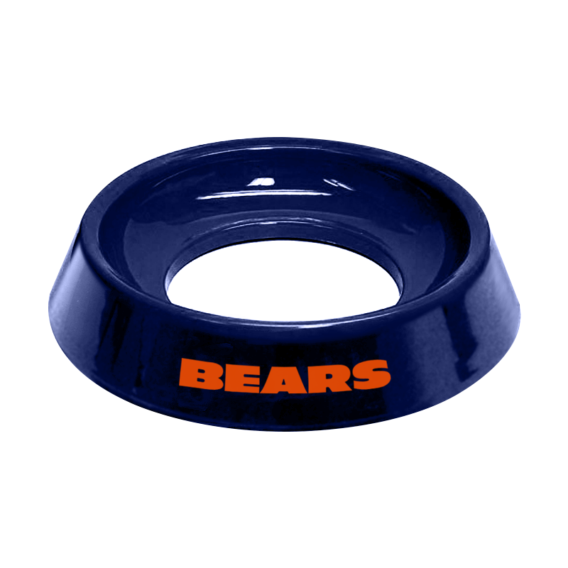 NFL Chicago bears bowling ball cup for bowlers clean wipe bowling ball holder to clean balls gift for bowlers