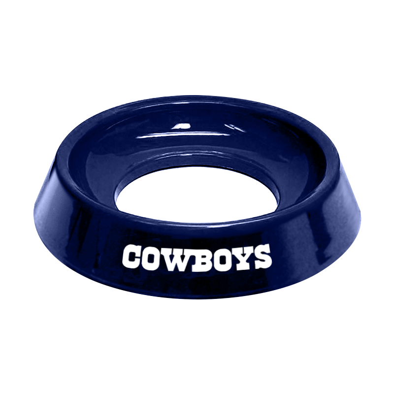NFL Dallas Cowboys bowling ball cup for bowlers clean wipe bowling ball holder to clean balls gift for bowlers