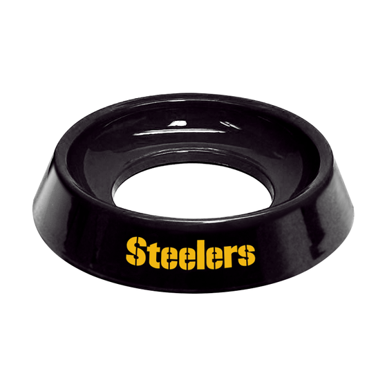 NFL Pittsburgh Steelers bowling ball cup for bowlers clean wipe bowling ball holder to clean balls gift for bowlers