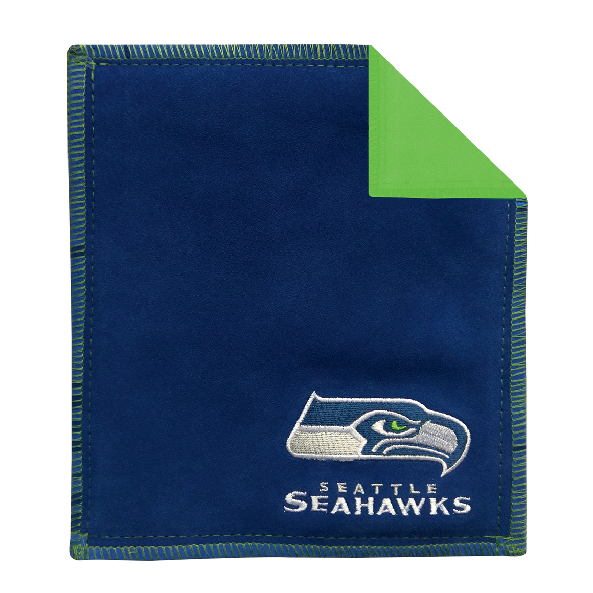 Seattle Seahawks bowling shammy towel for bowlers clean wipe sling for bowling balls