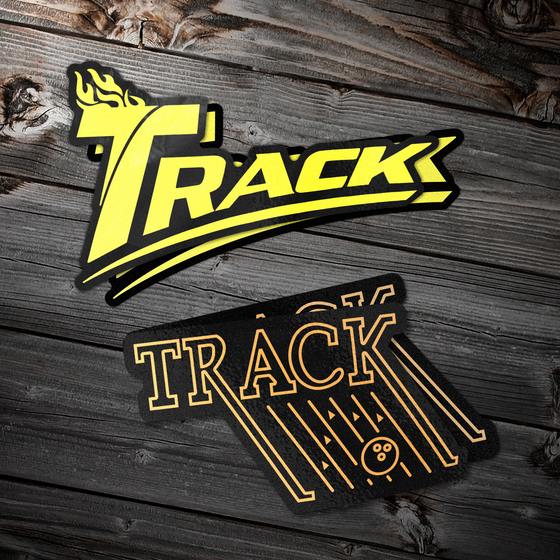 Track Logo Sticker Pack