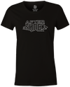 After Shock Women's T-shirt, Black, Bowling, tee, tee-shirt, tee shirt, tshirt, retro