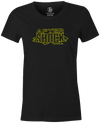 After Shock Women's T-shirt, Charcoal, Bowling, tee, tee-shirt, tee shirt, tshirt, retro