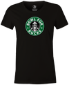 Bowl for Bucks Bowling T-Shirt Black, Women's, Tshirt, tee, tee-shirt, tee shirt, starbucks