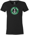 Bowl for Bucks Bowling T-Shirt Charcoal, Women's, Tshirt, tee, tee-shirt, tee shirt, starbucks