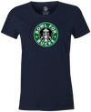 Bowl for Bucks Bowling T-Shirt Navy, Women's, Tshirt, tee, tee-shirt, tee shirt, starbucks