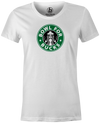 Bowl for Bucks Bowling T-Shirt White, Women's, Tshirt, tee, tee-shirt, tee shirt, starbucks