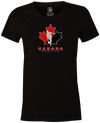 Canada Bowling Women's T-shirt, Black, tshirt, tee, tee-shirt, support, team, pride, country, sport