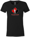 Canada Bowling Women's T-shirt, Charcoal, tshirt, tee, tee-shirt, support, team, pride, country, sport