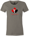 Canada Bowling Women's T-shirt, Grey, tshirt, tee, tee-shirt, support, team, pride, country, sport