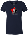 Canada Bowling Women's T-shirt, Navy, tshirt, tee, tee-shirt, support, team, pride, country, sport