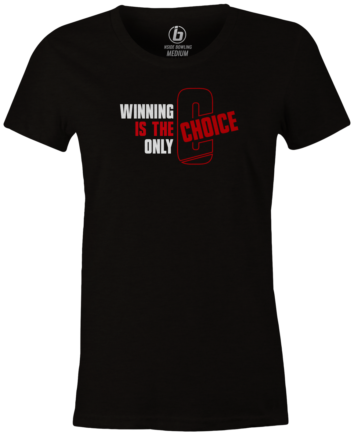 Ebonite Choice Women's T-Shirt, Red, Bowling, Bowling ball, tshirt, tee shirt, tee-shirt, tee.