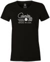 Columbia 300 Retro Women's T-Shirt, Black, tshirt, tee, tee-shirt, tee shirt, retro, cool, bowling ball