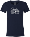 Columbia 300 Retro Women's T-Shirt, Navy, tshirt, tee, tee-shirt, tee shirt, retro, cool, bowling ball