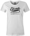 Women's Ebonite Bowling T-Shirt Vintage Logo White
