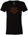 Eruption Pro Women's T-Shirt, Black, Bowling, Columbia 300, tshirt, tee, tee-shirt, tee shirt, cool, comfortable.