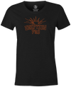 Eruption Pro Women's T-Shirt, Charcoal, Bowling, Columbia 300, tshirt, tee, tee-shirt, tee shirt, cool, comfortable.
