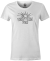 Eruption Pro Women's T-Shirt, White, Bowling, Columbia 300, tshirt, tee, tee-shirt, tee shirt, cool, comfortable.