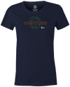 Track In2ition Women's T-Shirt, Navy, Bowling Ball, Bowling, Tee, tshirt, tee-shirt, tee shirt, track bowling, smart bowling