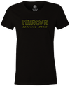 Nitro/R Women's T-Shirt, Black, Bowling, bowling ball, ebonite, throwback, retro, vintage, old school, tshirt, tee, tee-shirt, tee shirt.