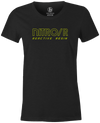 Nitro/R Women's T-Shirt, Charcoal, Bowling, bowling ball, ebonite, throwback, retro, vintage, old school, tshirt, tee, tee-shirt, tee shirt.