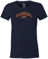 Resurgence Columbia 300 Bowling T-Shirt Navy women's