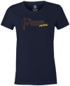 Saber Pearl Women's T-Shirt, Navy, bowling, bowling ball, saber, columbia 300, tshirt, tee, tee-shirt, tee shirt.
