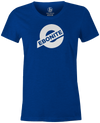 Ebonite Bowling Tee | Ebonite New Logo Bowling T-Shirt Blue