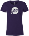 Ebonite Bowling Tee | Ebonite New Logo Bowling T-Shirt Purple