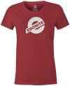 Ebonite Bowling Tee | Ebonite New Logo Bowling T-Shirt Red