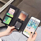 Luxury Phone Case For iPhones with Card Holder Trending Hype