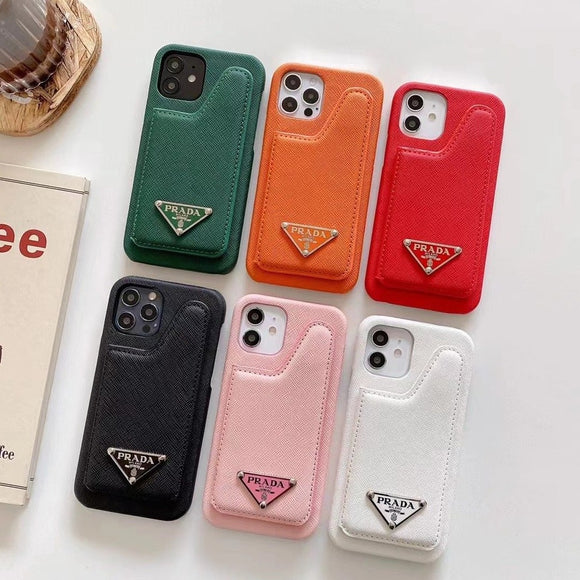 PD Luxury Phone Case with Card Holder - TH™
