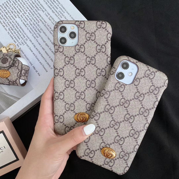 GG Luxury Phone Case For iPhones - TH™