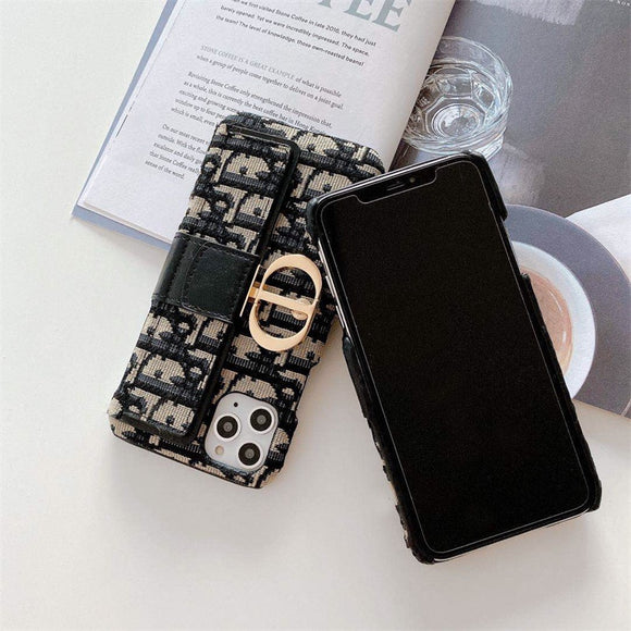 Luxury Phone Case For iPhones with Card Holders Trending Hype