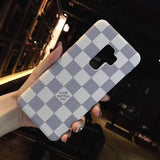 White Damier Luxury Cases for Android/ Samsung - TH™