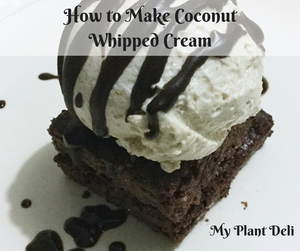 How to Make Whipped Coconut Cream from Boxed Coconut Santan in Malaysia
