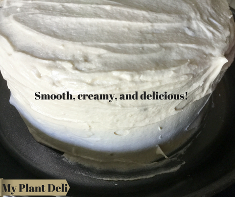 vegan cream cheese frosting recipe